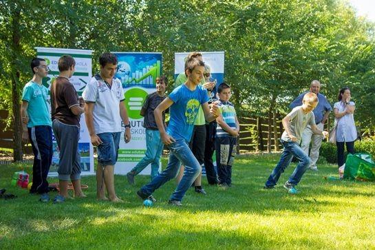 Örömszerzés és önállóságra nevelés az esélyegyenlőségi tábor célja