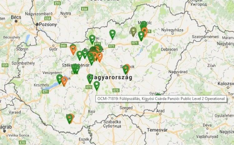 elektromos töltőállomás magyarország térkép Halad a korral a Kígyósi Csárda | Bácsmegye