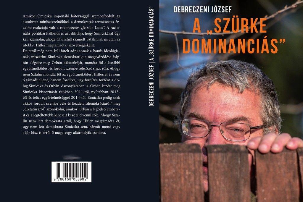 A kecskeméti Debreczeni újabb botrány könyvvel áll elő, most Simicska Lajosról