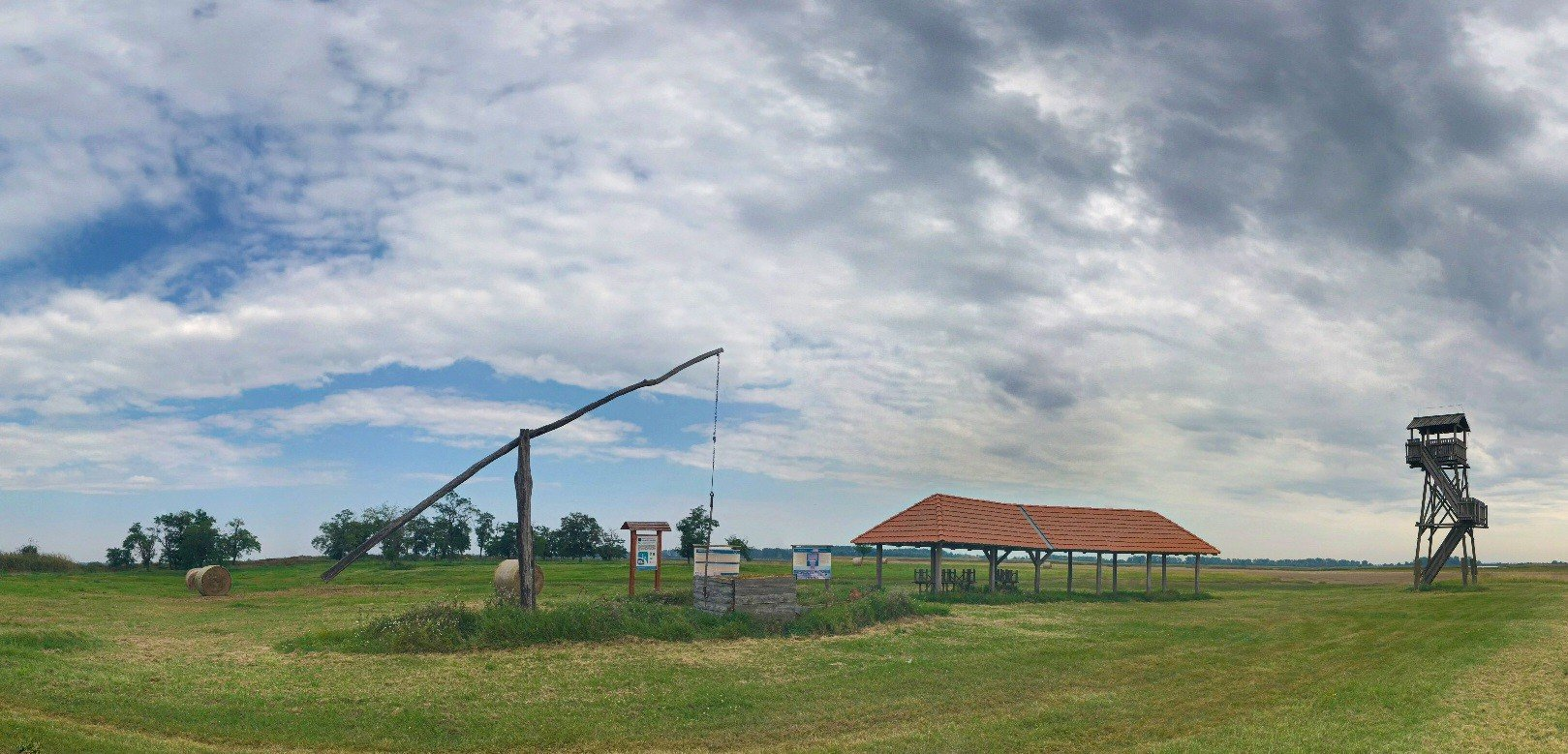 Street-view a Kiskunsági Nemzeti Parkban