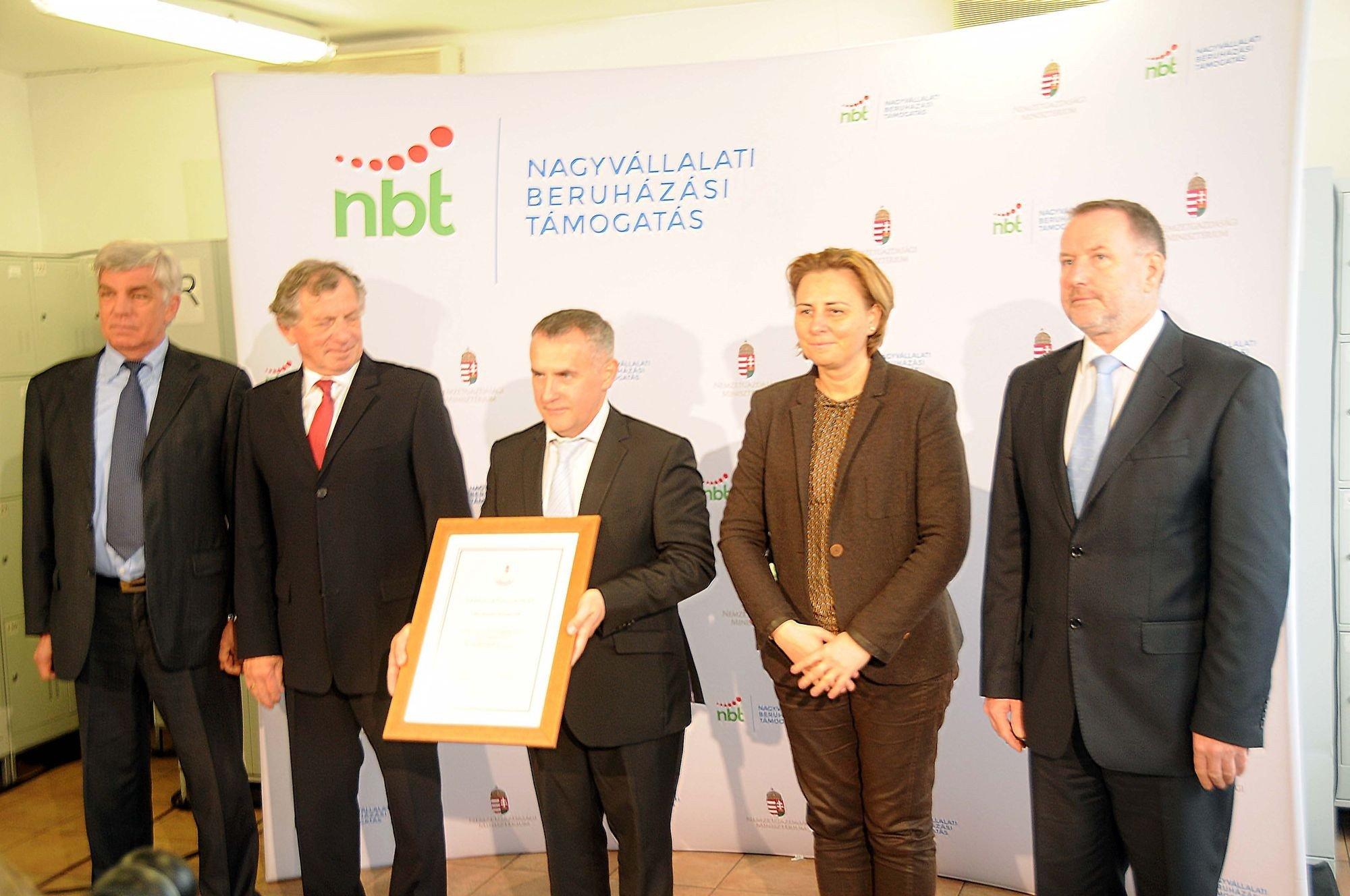 Közel kétmilliárdos beruházással bővíti kapacitását a Kecskeméti Konzerv Kft.