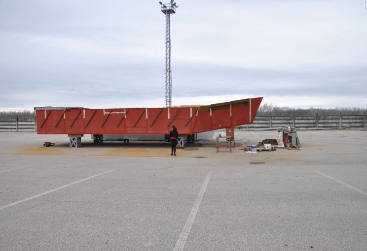 Októberre elkészülhet a Duna egyetlen működő hajómalma Baján