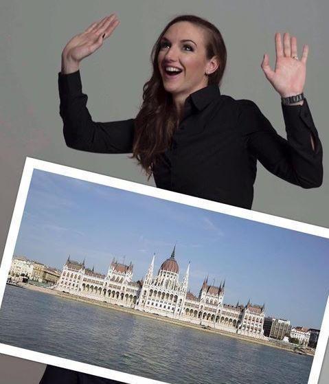A Parlamentben találta meg álmai otthonát a bajai lány
