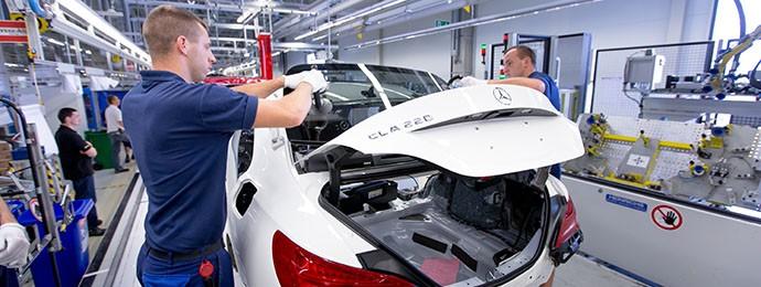 Rekordévet zárt tavaly a Mercedes Magyarországon