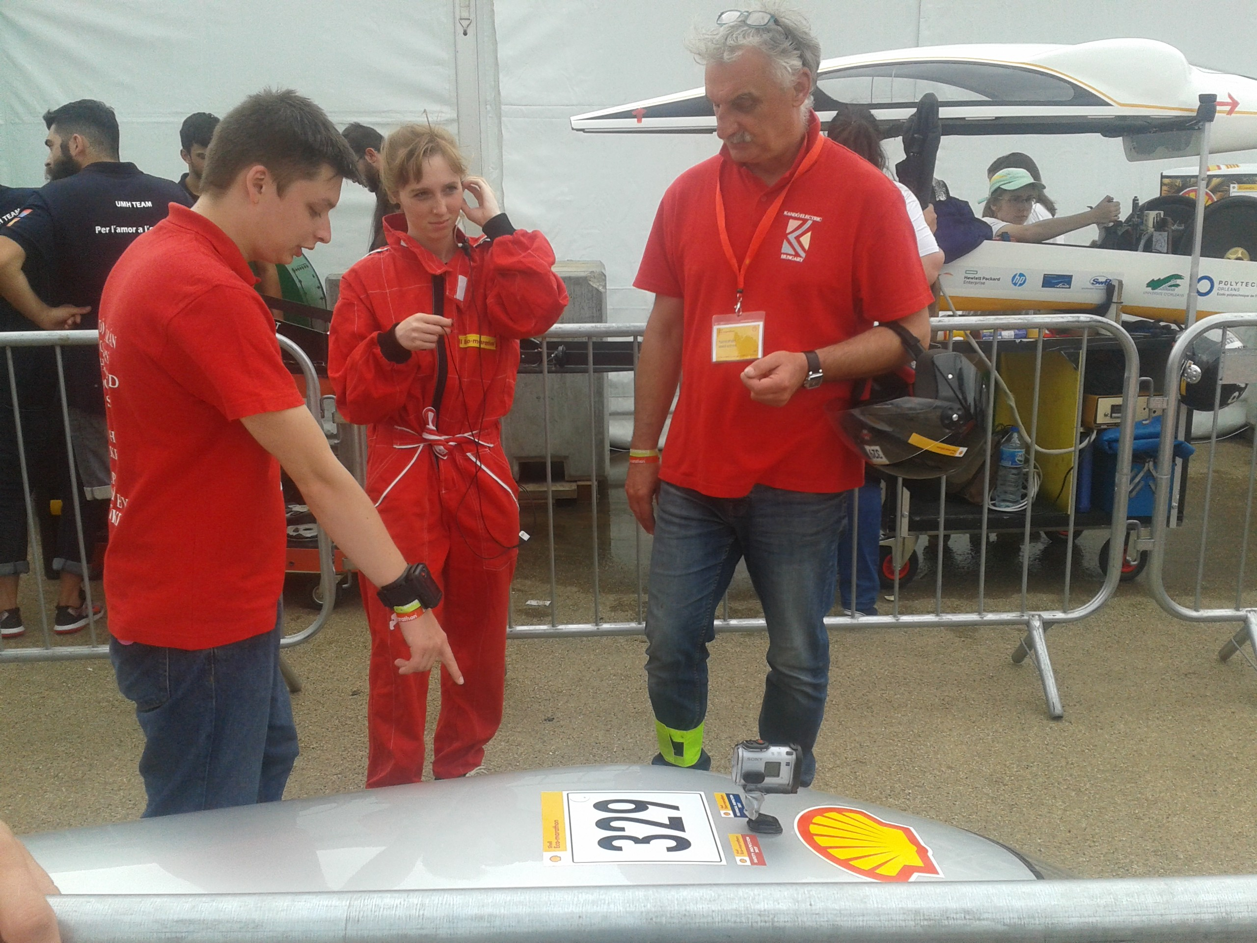 Már az első mért idejükkel megdöntötte tavalyi eredményét a Kandó Electric a Shell Eco-marathonon