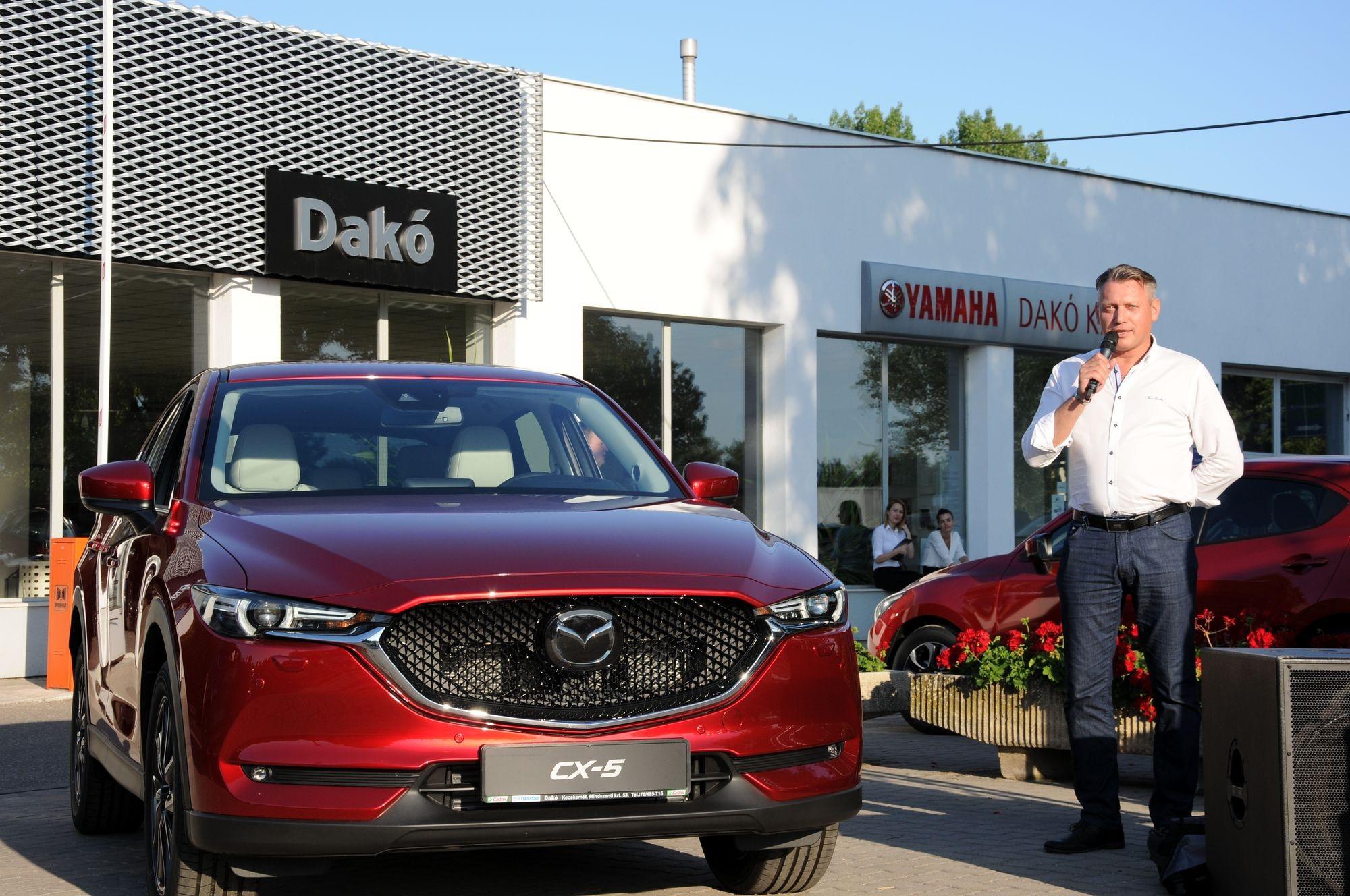 Leleplezték az új Mazda CX-5-öst a Dakó Kft-nél
