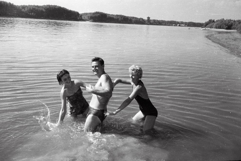 Így strandoltak egykor a Bács megyeiek