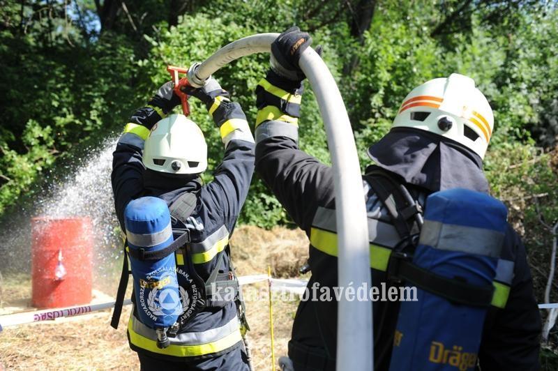 Kiskőrösön mérték össze tudásukat a megye tűzoltói
