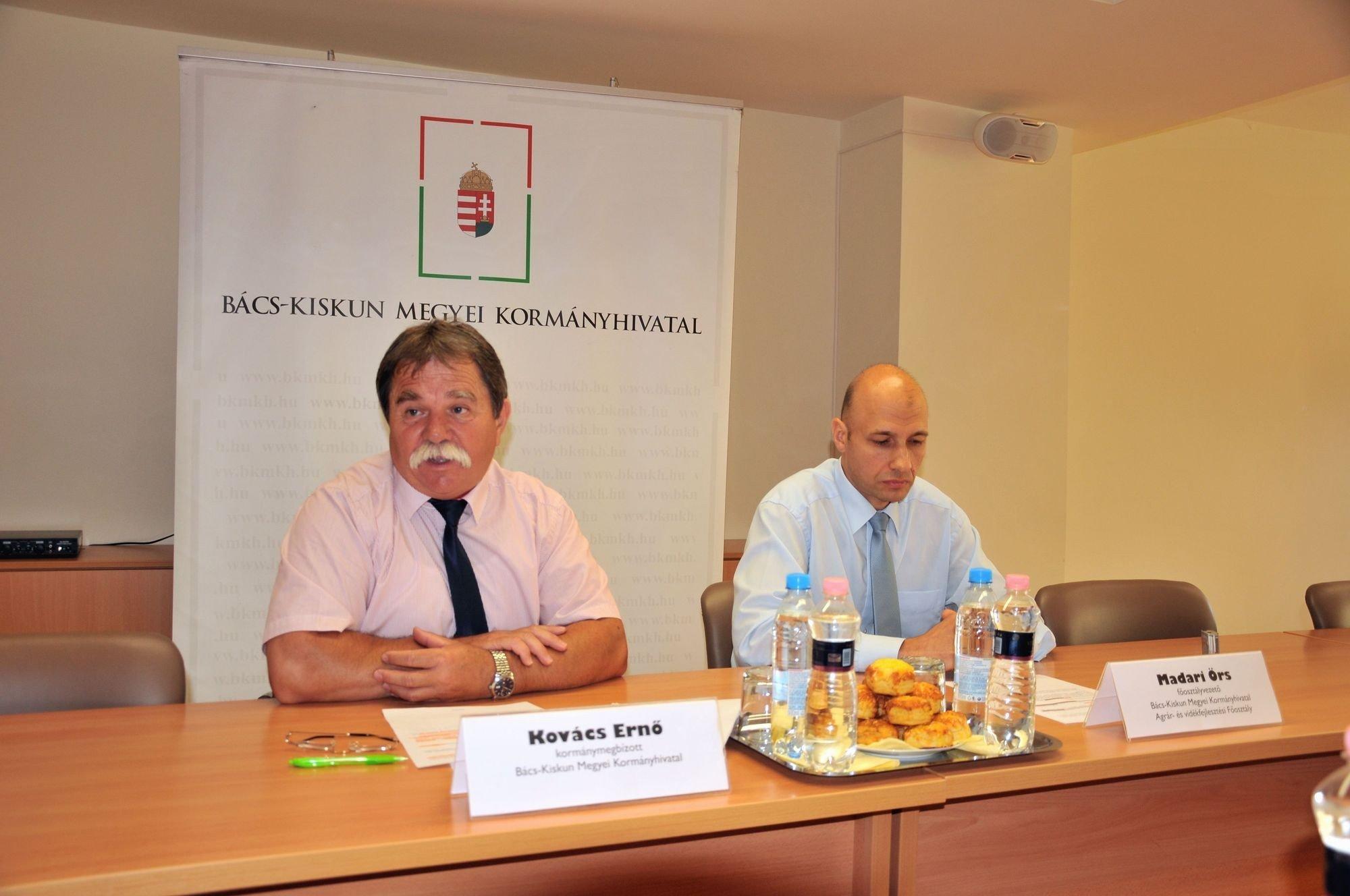 A területalapú támogatások elbírálásának versenyében is megállta a helyét Bács megye