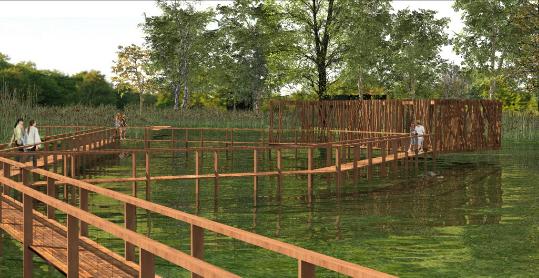 Indulhat a kiskunhalasi Csetényi park fejlesztése