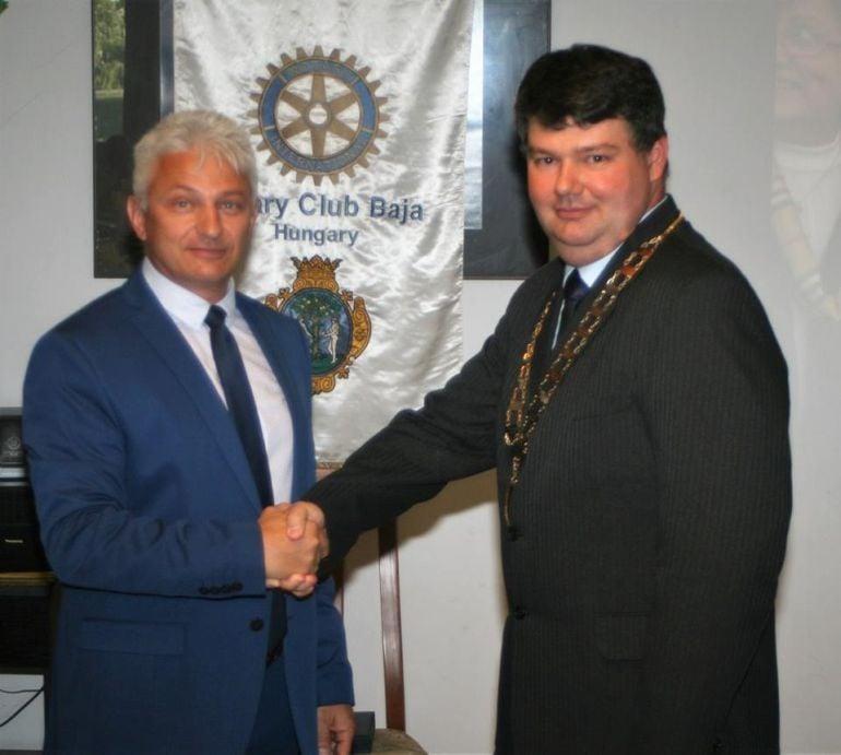Új elnöke van a bajai Rotary Clubnak