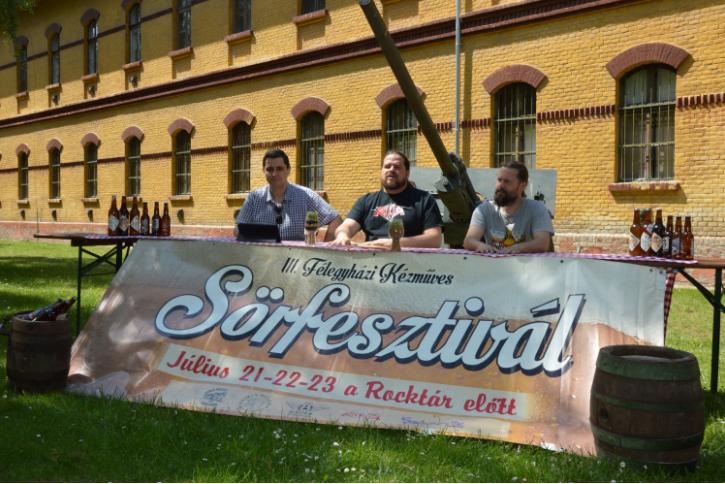 Ötven magyar kézműves sörkülönlegesség lesz a félegyházi sörfesztiválon