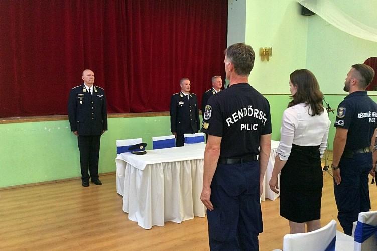 Újabb határvadász hallgatók kezdték meg tanulmányaikat Kiskunhalason