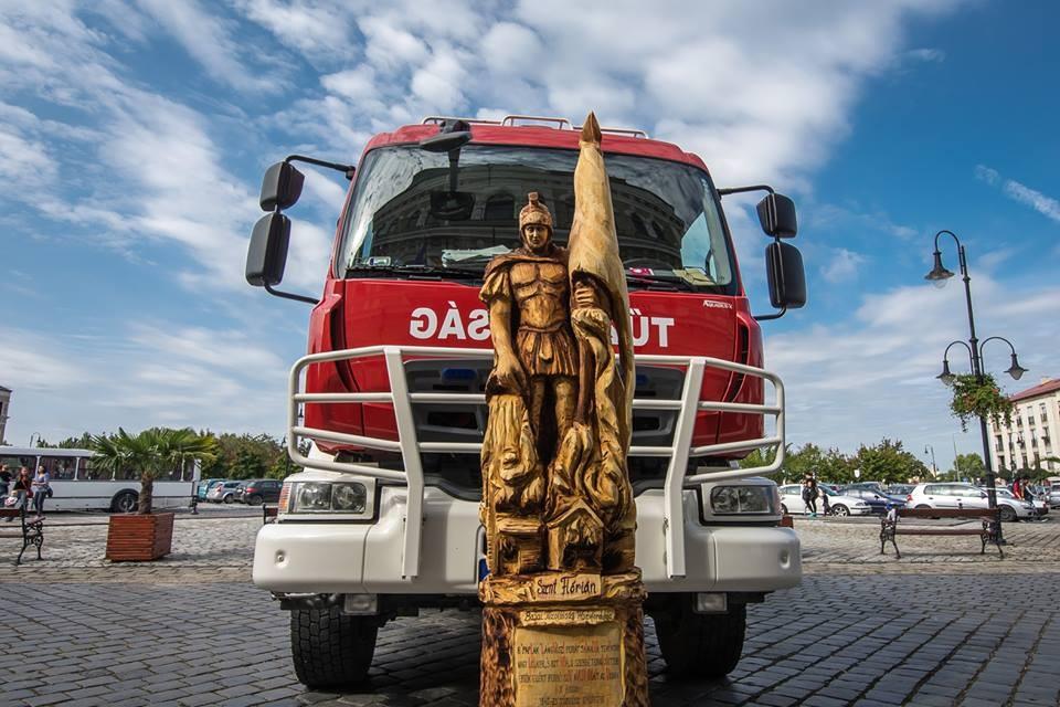 145 éves a Bajai Tűzoltóság