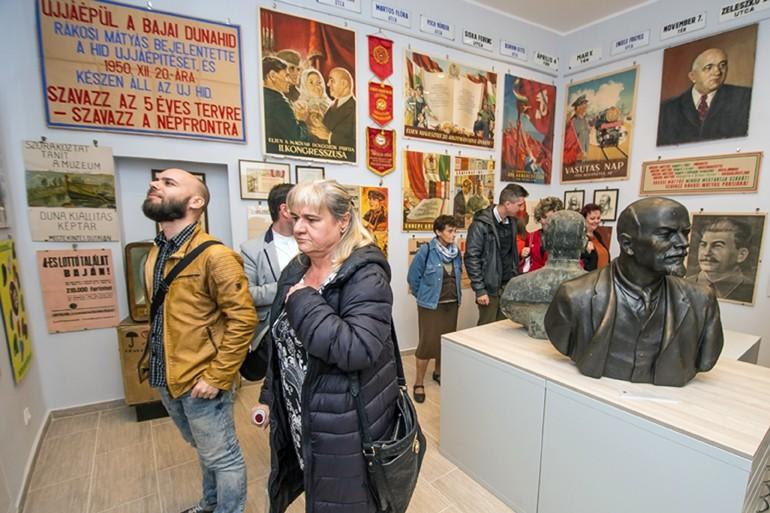 Látványtárat avattak a bajai Türr István Múzeumban