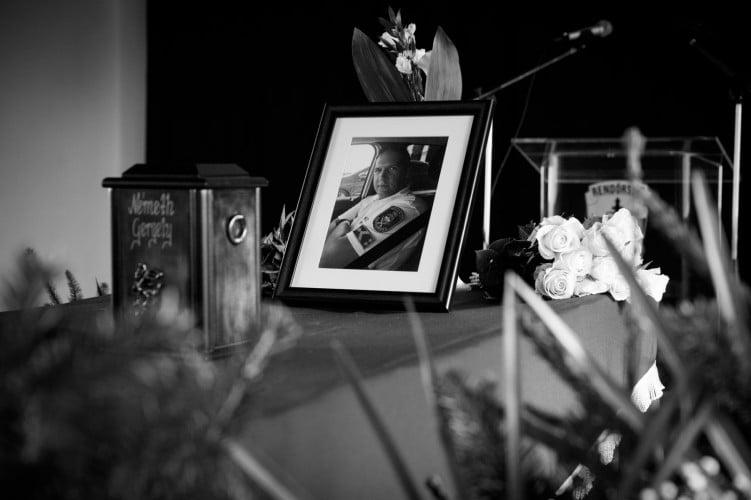 Végső búcsút vettek a balesetben meghalt rendőr törzsőrmestertől