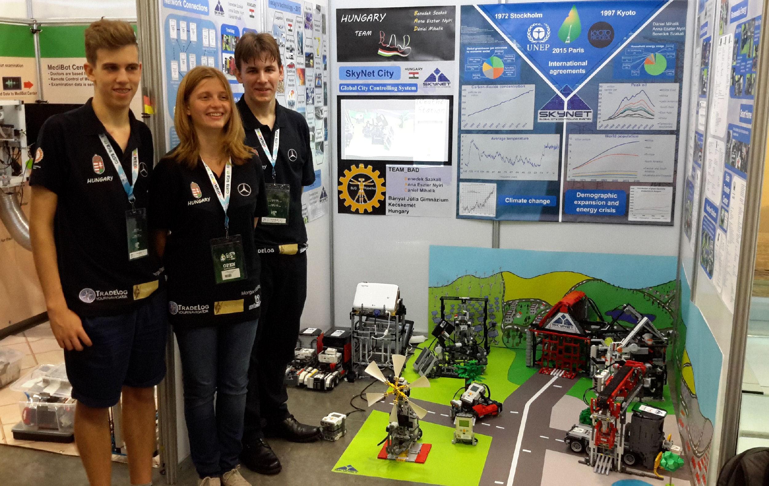 Robotikában ismét a világ élvonalában a Bányai