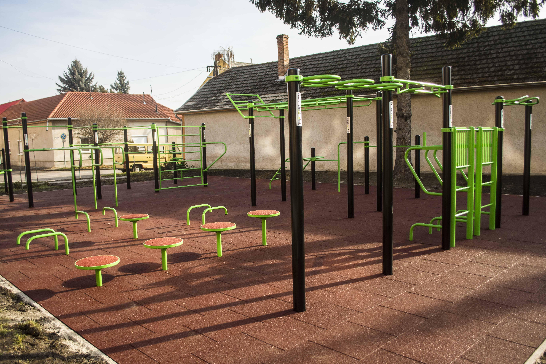 Jó időre és sportos közönségre vár a kiskunfélegyházi edzőpark