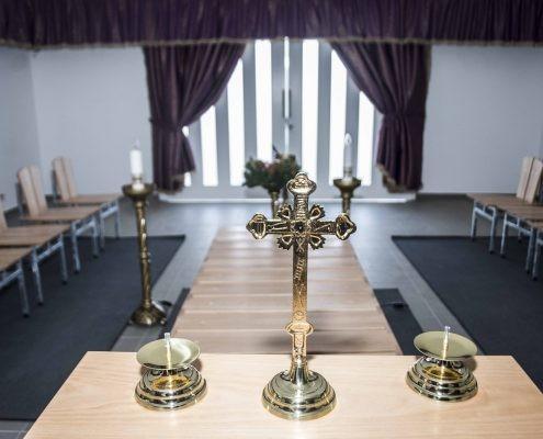 Átadták az új ravatalozót a kiskunfélegyházi Alsótemetőben