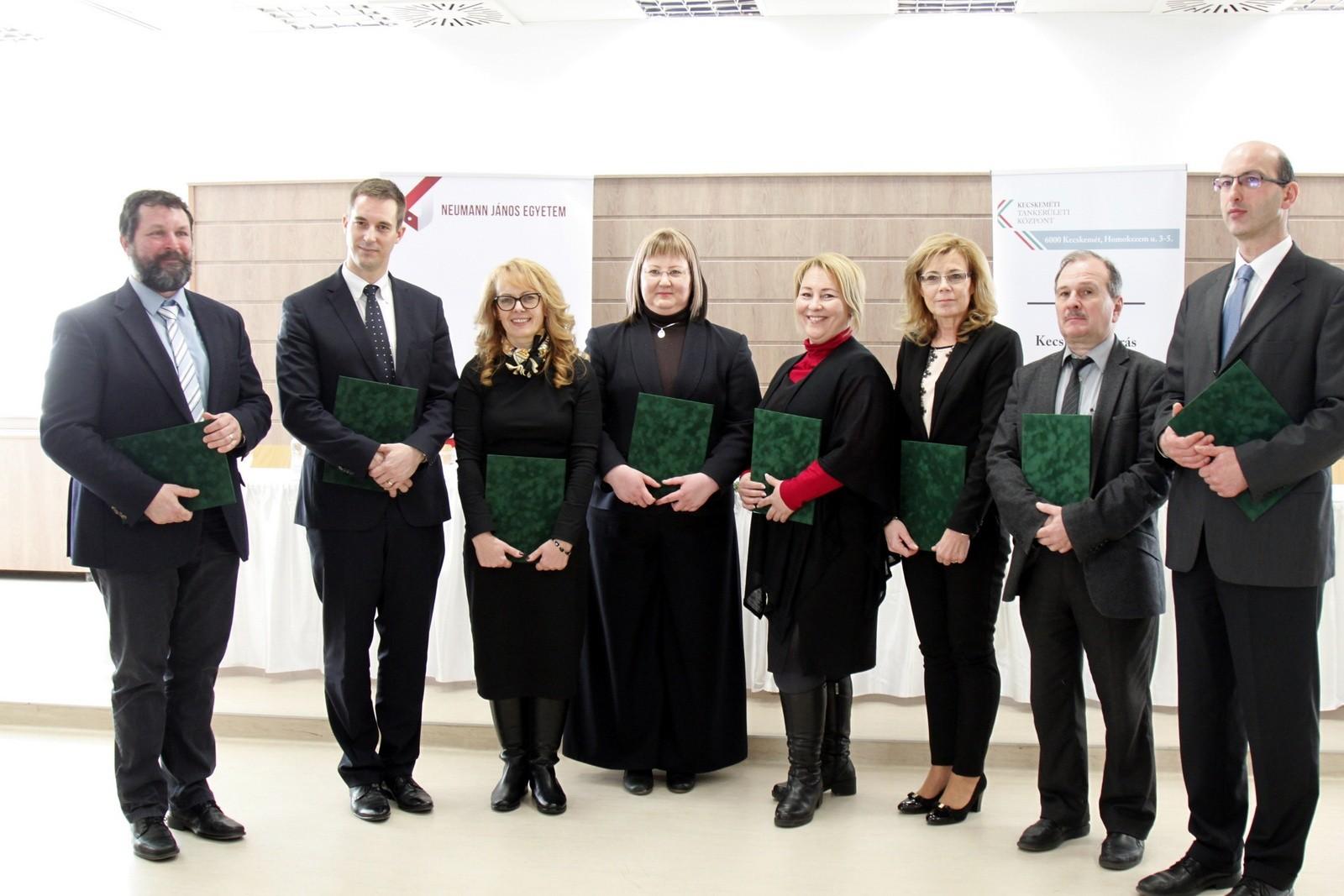 Együttműködési megállapodás a Neumann János Egyetem és a Kecskeméti Tankerületi Központ között