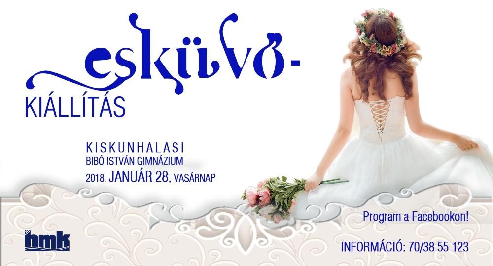 A Bibó István Gimnázim ad helyet a 2018-as esküvőkiállításnak Kiskunhalason