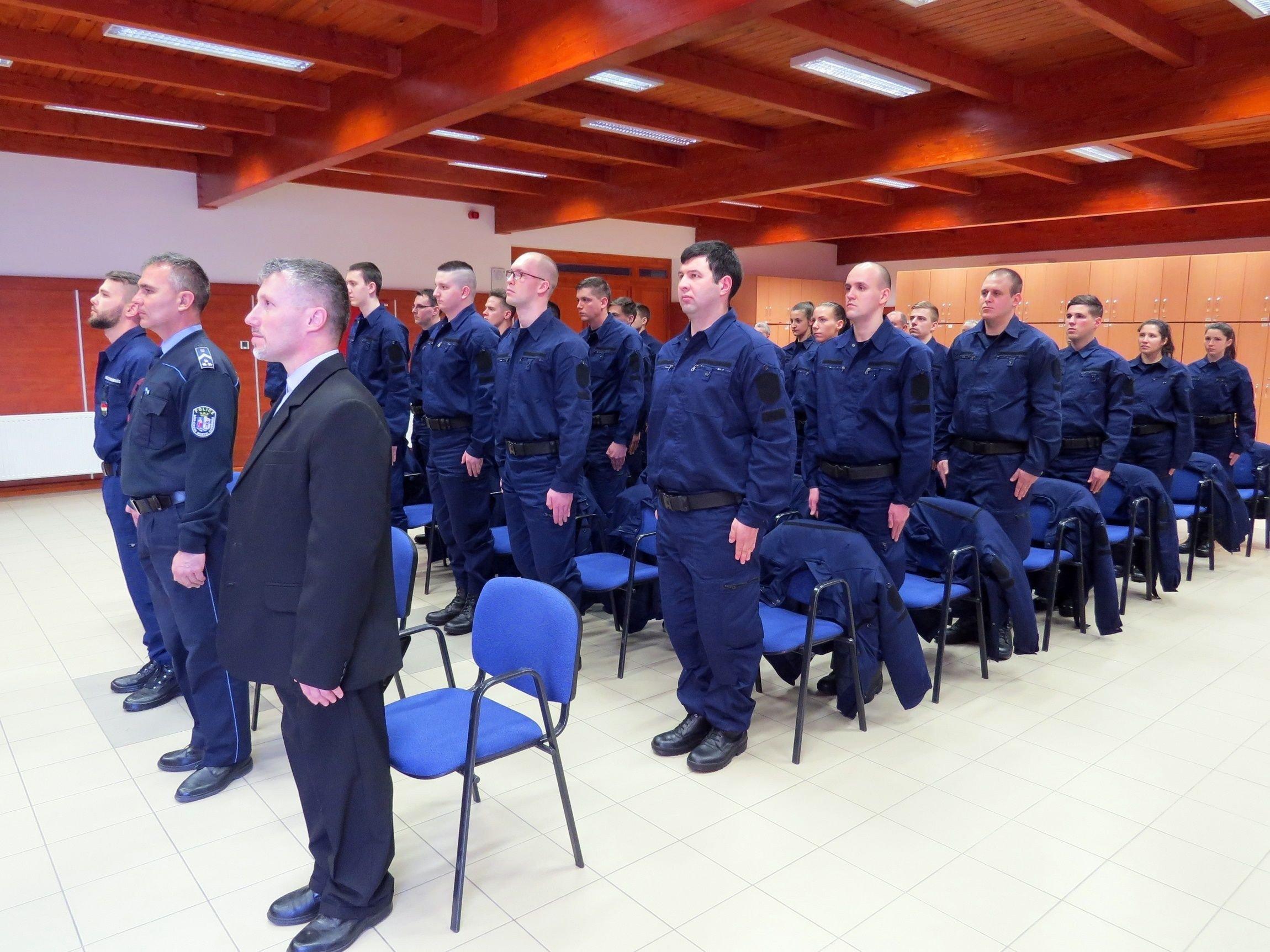 Folytatódik a határvadászok képzése Bács-Kiskunban