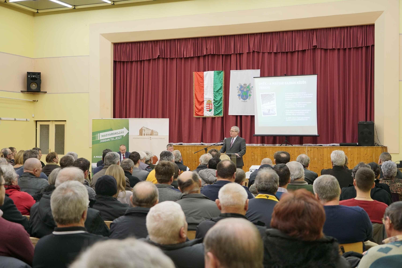 Az elmúlt nyolc évben a magyar mezőgazdaság növekedési pályára állt