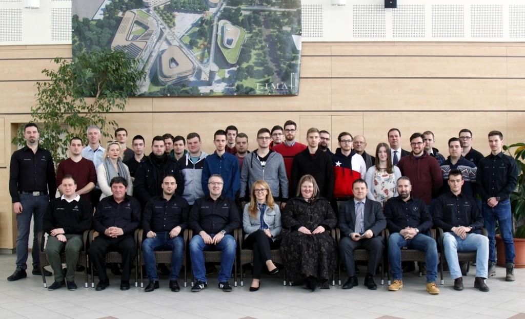 Elkezdődött a Mercedes-Benz és GAMF közös mérnökversenye