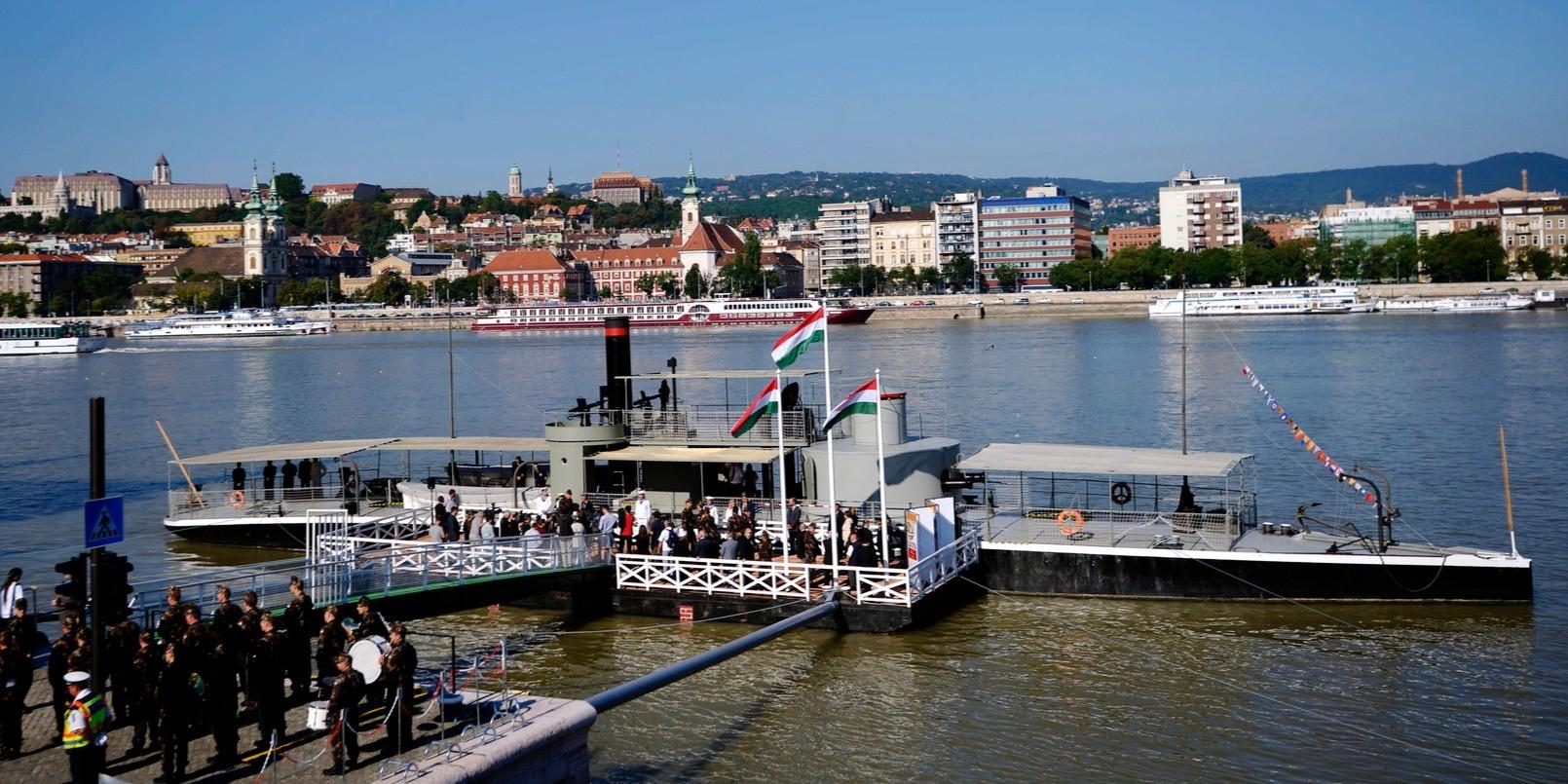 Baján, Pakson és Mohácson is megtekinthető lesz a Lajta Monitor Múzeumhajó