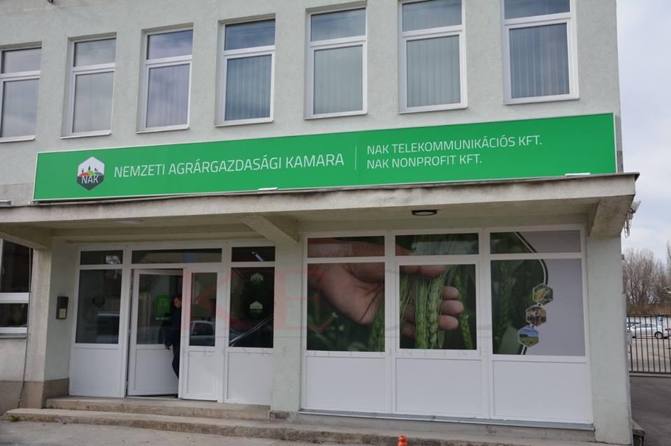 Megújult a NAK Bács-Kiskun Megyei Igazgatóságának kecskeméti épülete