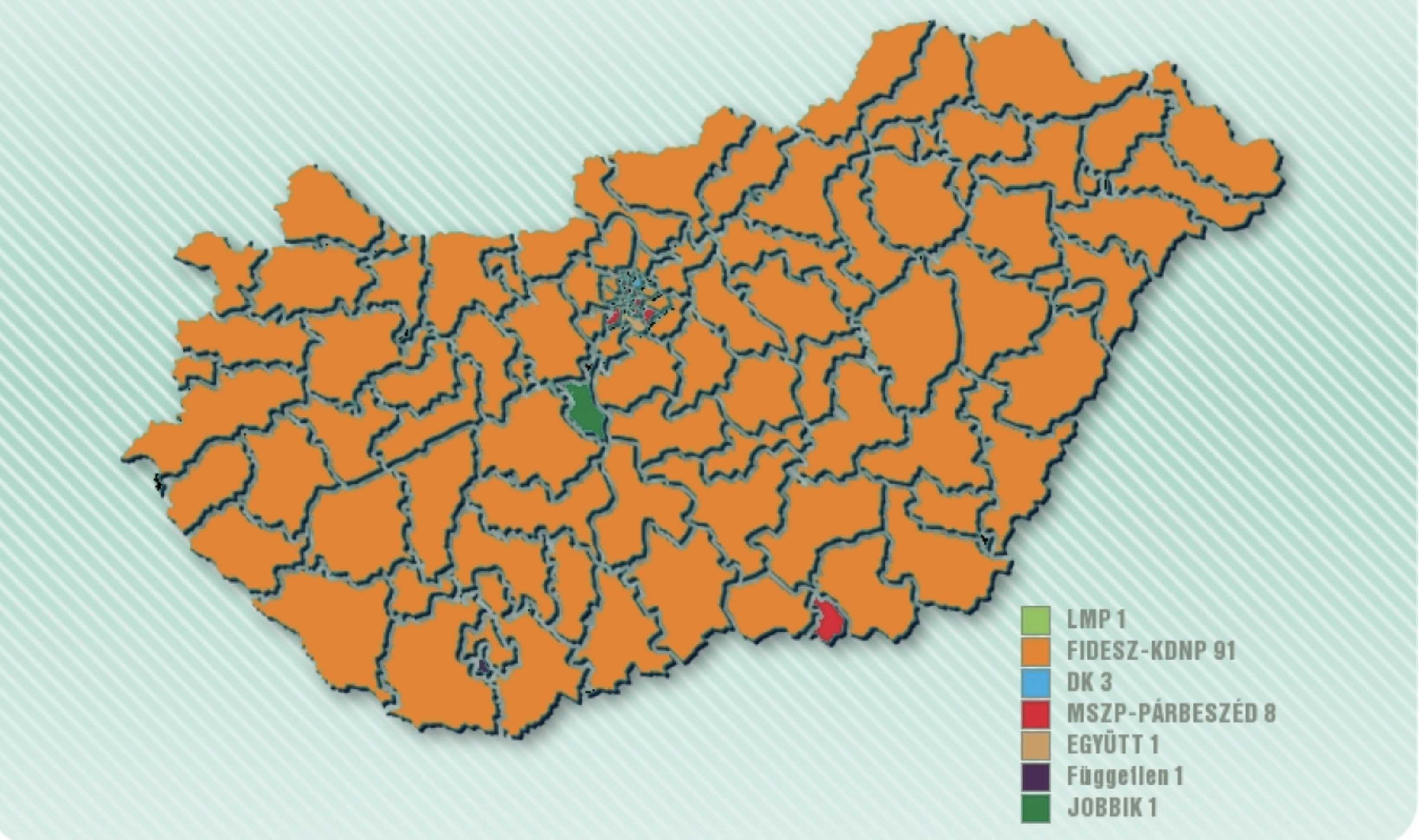14/13 – a Csongrád-Békés-Bács-Kiskun hozta a Fidesz-KDNP kötelezőt