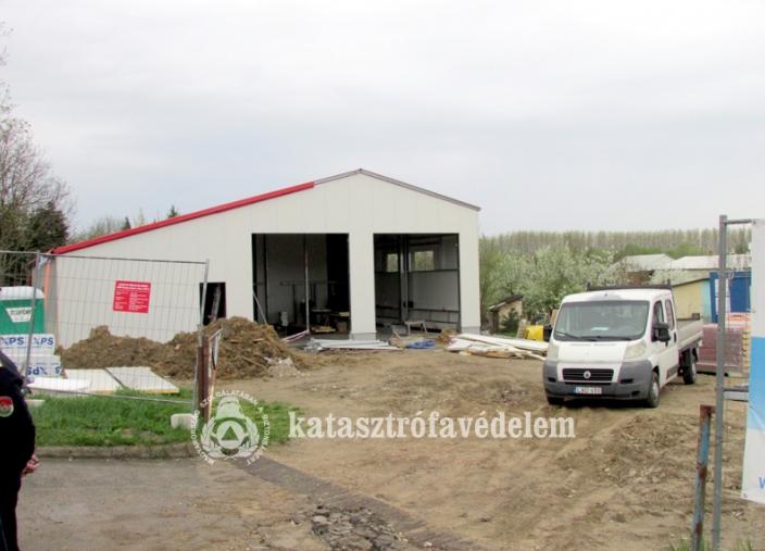 Új tűzoltóörs épül Kiskunmajsán