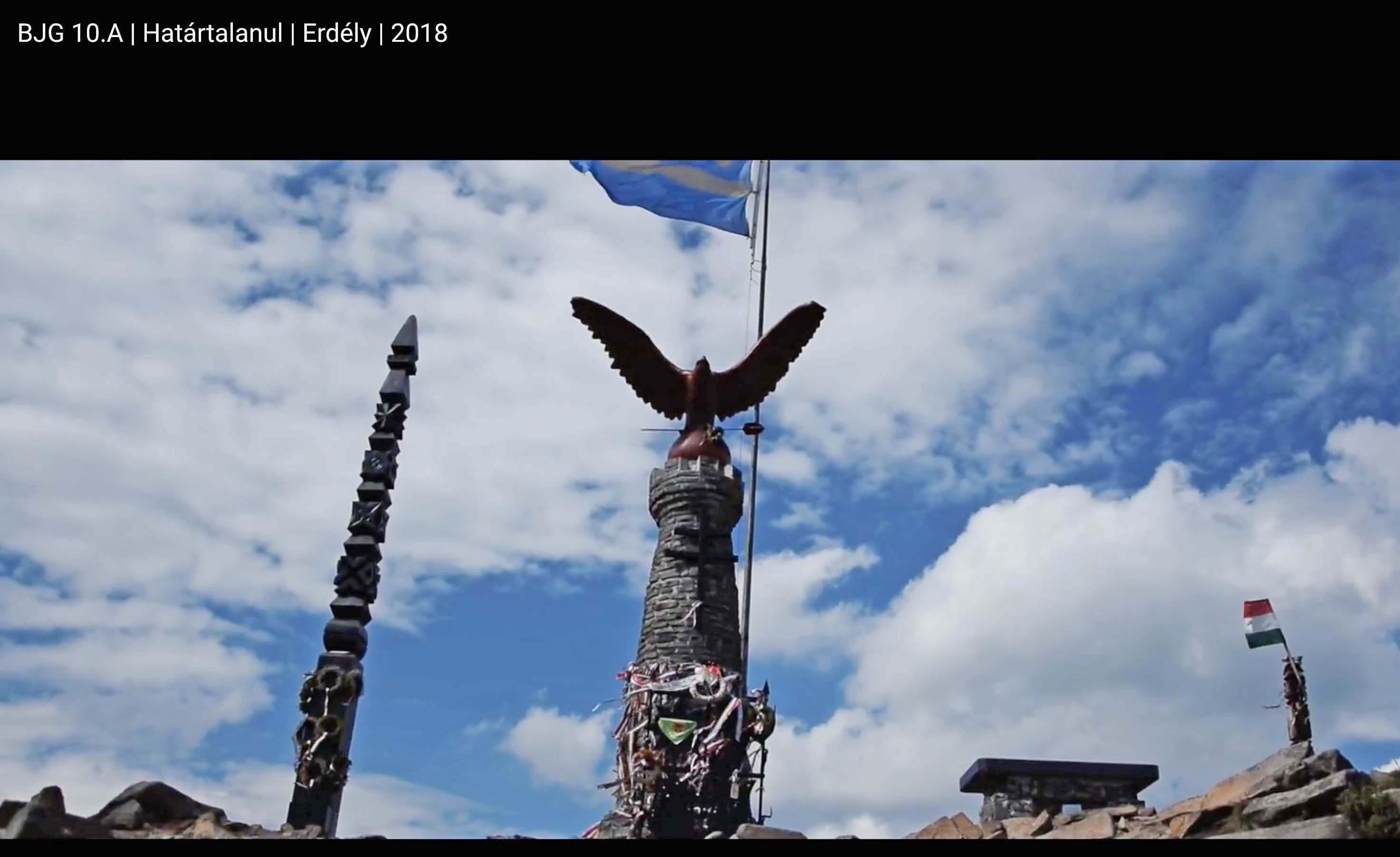 Kecskeméti Bányais tanulók Erdélyben kirándultak