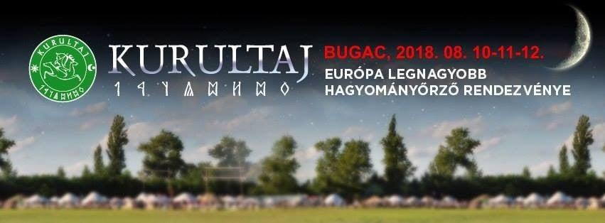 Kurultáj - Augusztusban lesz Bugacon a hagyományőrző fesztivál
