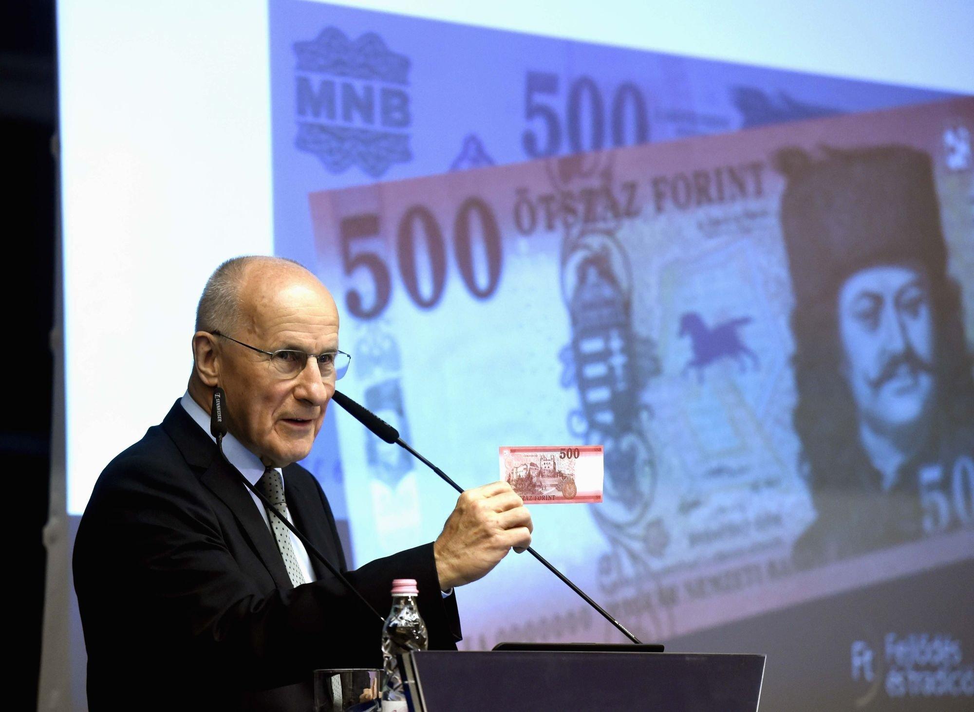 Megújul az 500 forintos bankjegy
