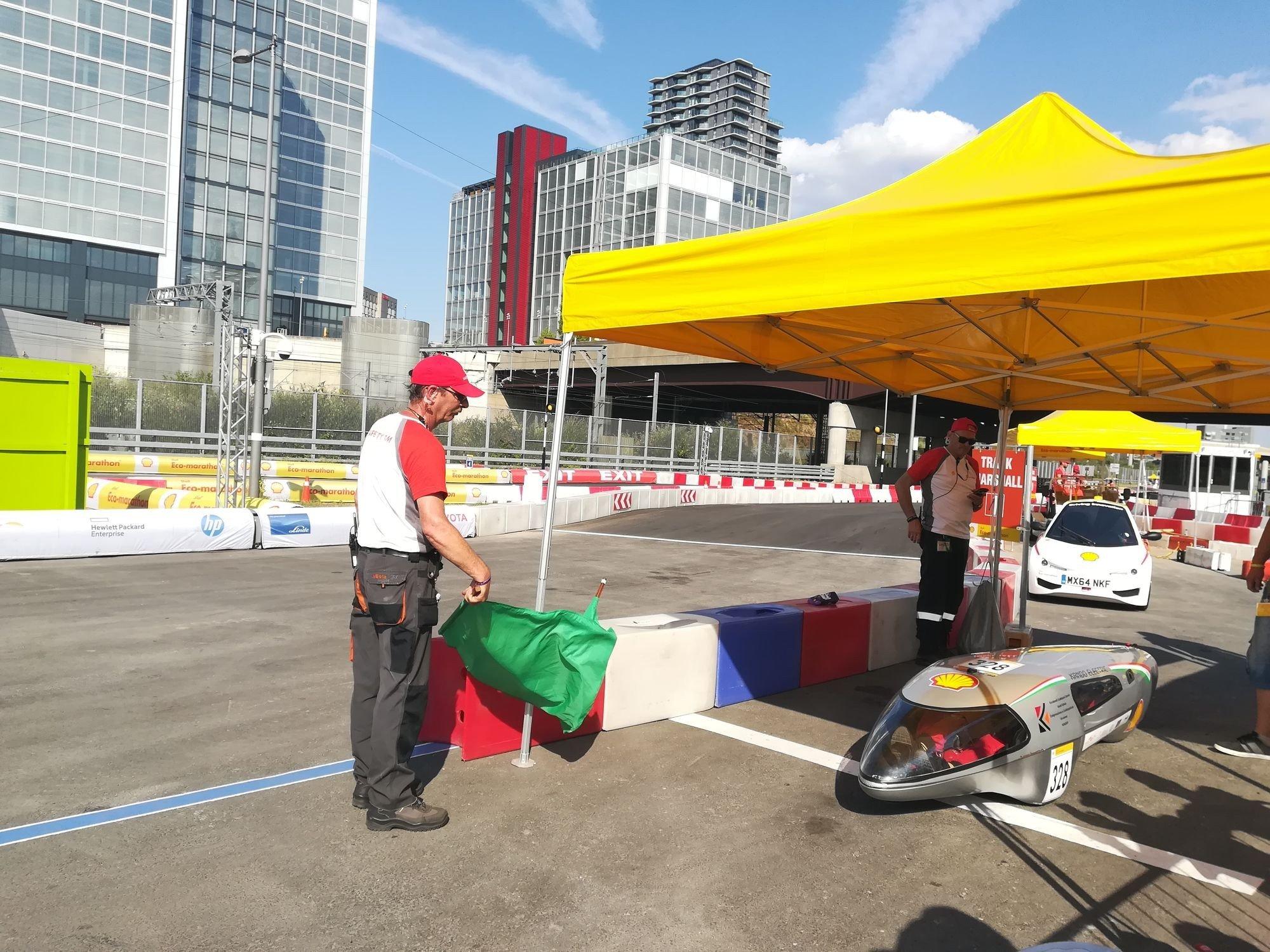 Jól kezdett a Kandó Electric a Shell Eco-marathon versenyen
