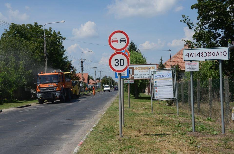 Megkezdődött Kiskunmajsán a Fő utca felújítása