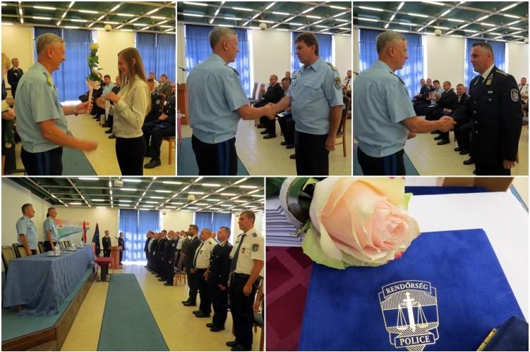 Ünnepi állománygyűlésen jutalmazták a Bács Megyei Rendőr-főkapitányság munkatársait