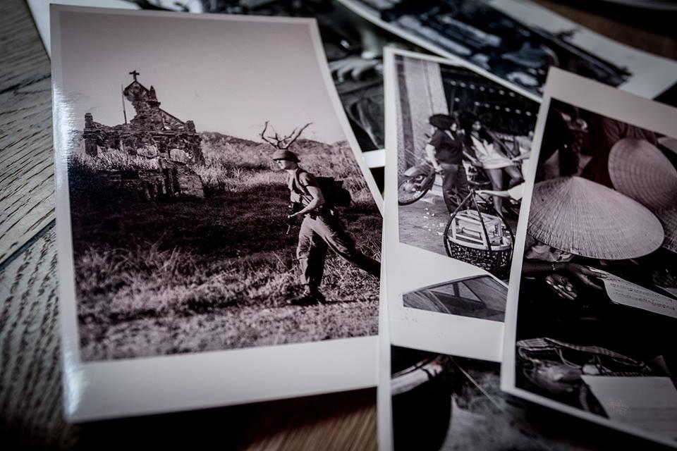 Kondor László vietnami háborúban készült fotóiból nyílt kiállítás Kecskeméten