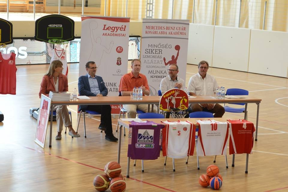 Hatodik szezonját kezdte meg a kecskeméti Kosárlabda Akadémia