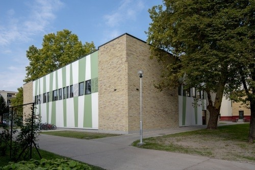 Új tornacsarnok épült a kiskunfélegyházi Szent Benedek-iskolában