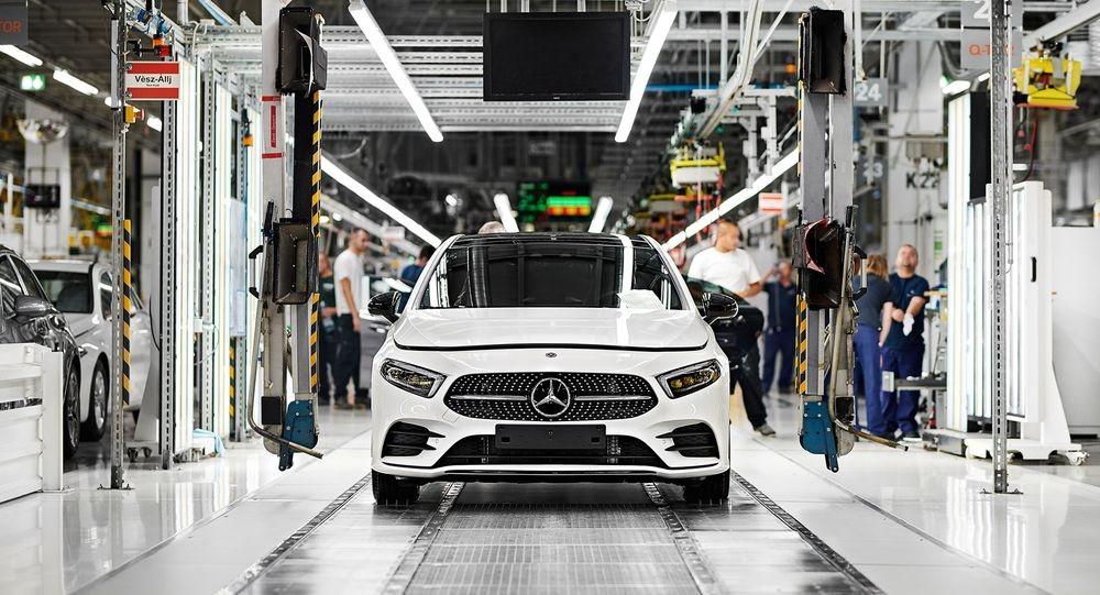 Elkészült az 1.000.000-dik autó a kecskeméti Mercedes-Benz gyárban