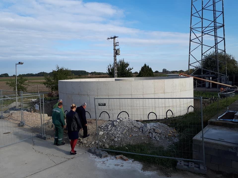Megkezdődött Izsák, Orgovány és Ágasegyháza szennyvíztisztító telepének fejlesztése