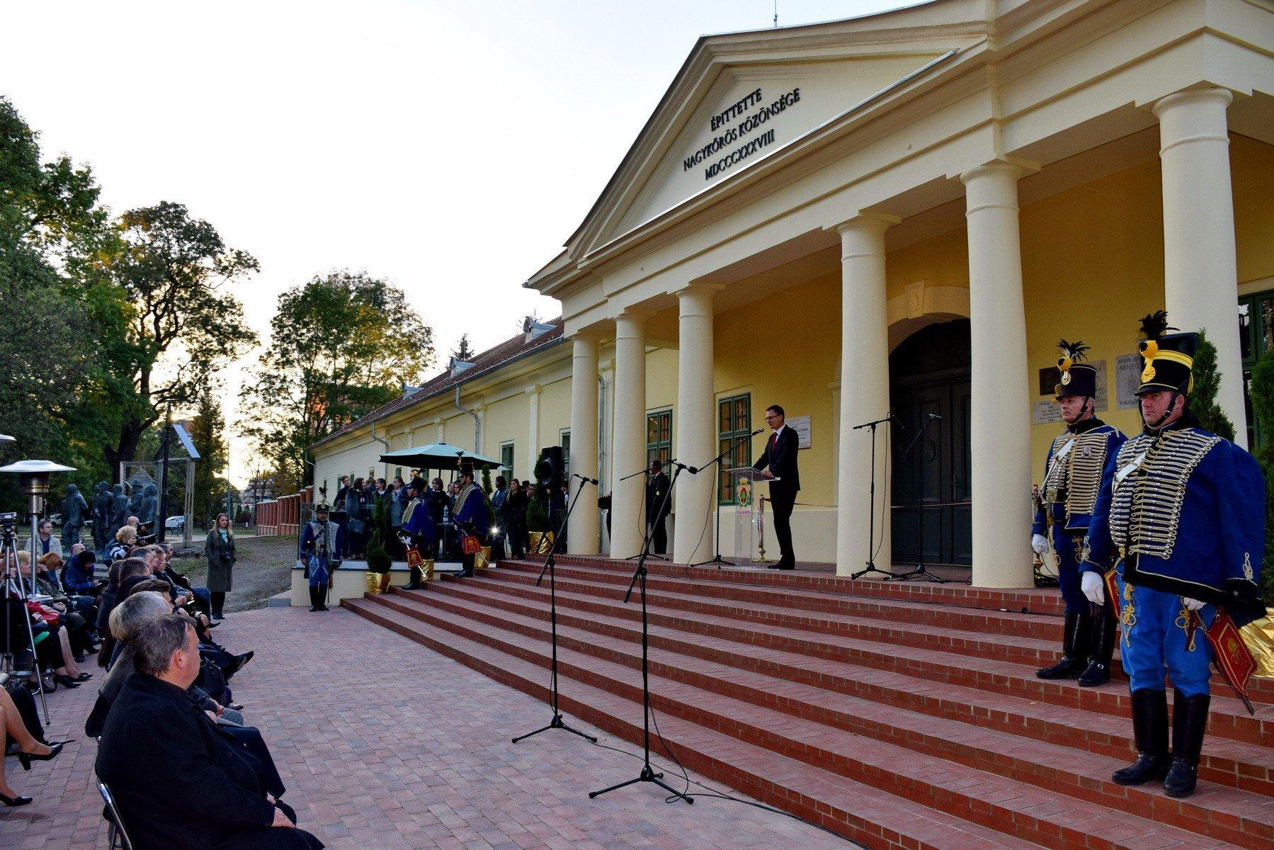 Hazánk egyik legmodernebb múzeumává vált az Arany János nevét viselő intézmény
