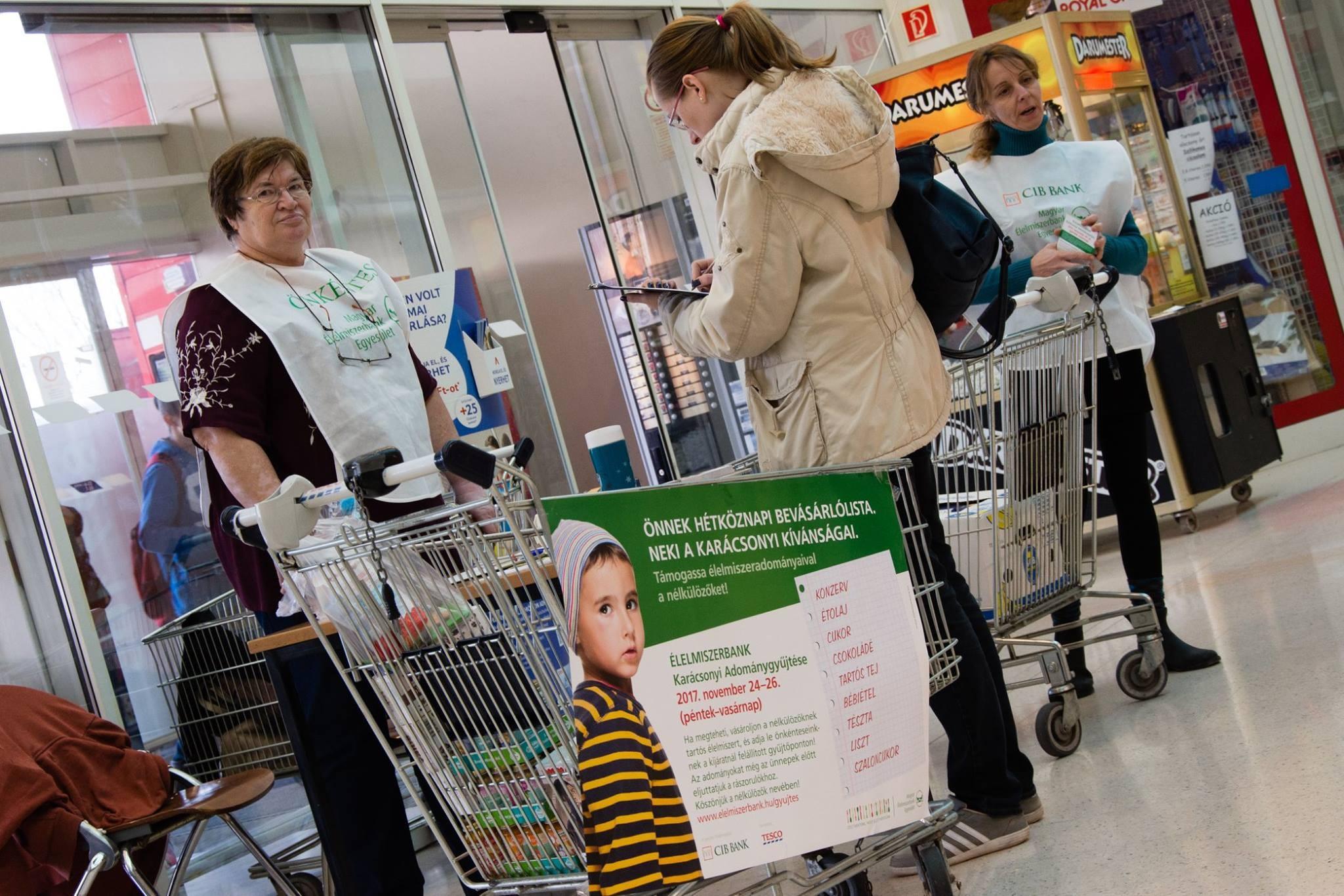 Több mint 200 áruházban szervez Karácsonyi Adománygyűjtést a Magyar Élelmiszerbank
