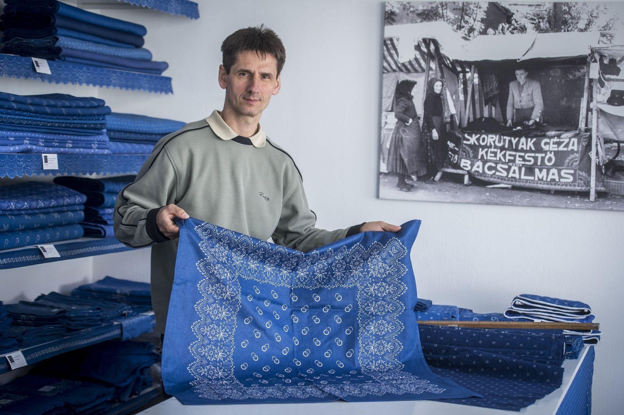 Felkerült a kékfestés az UNESCO szellemi kulturális örökség listájára