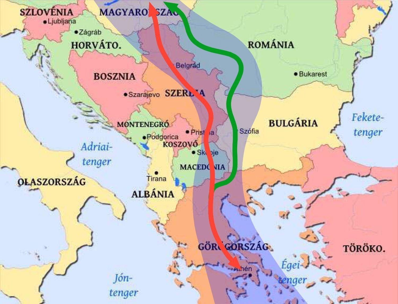 Új eljárást rendel el a kormány a Budapest-Belgrád vasútvonal fejlesztésére