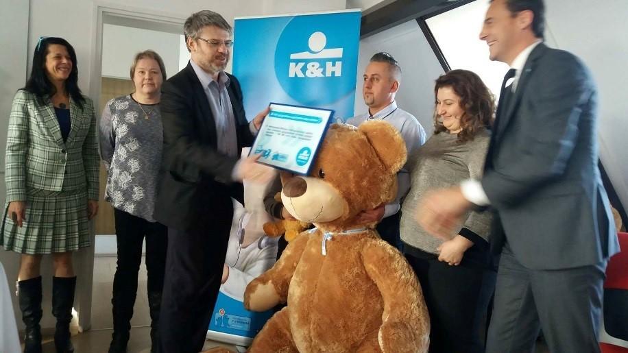 Egymillió forintos műszeradományt kapott a Bács-Kiskun Megyei Kórház