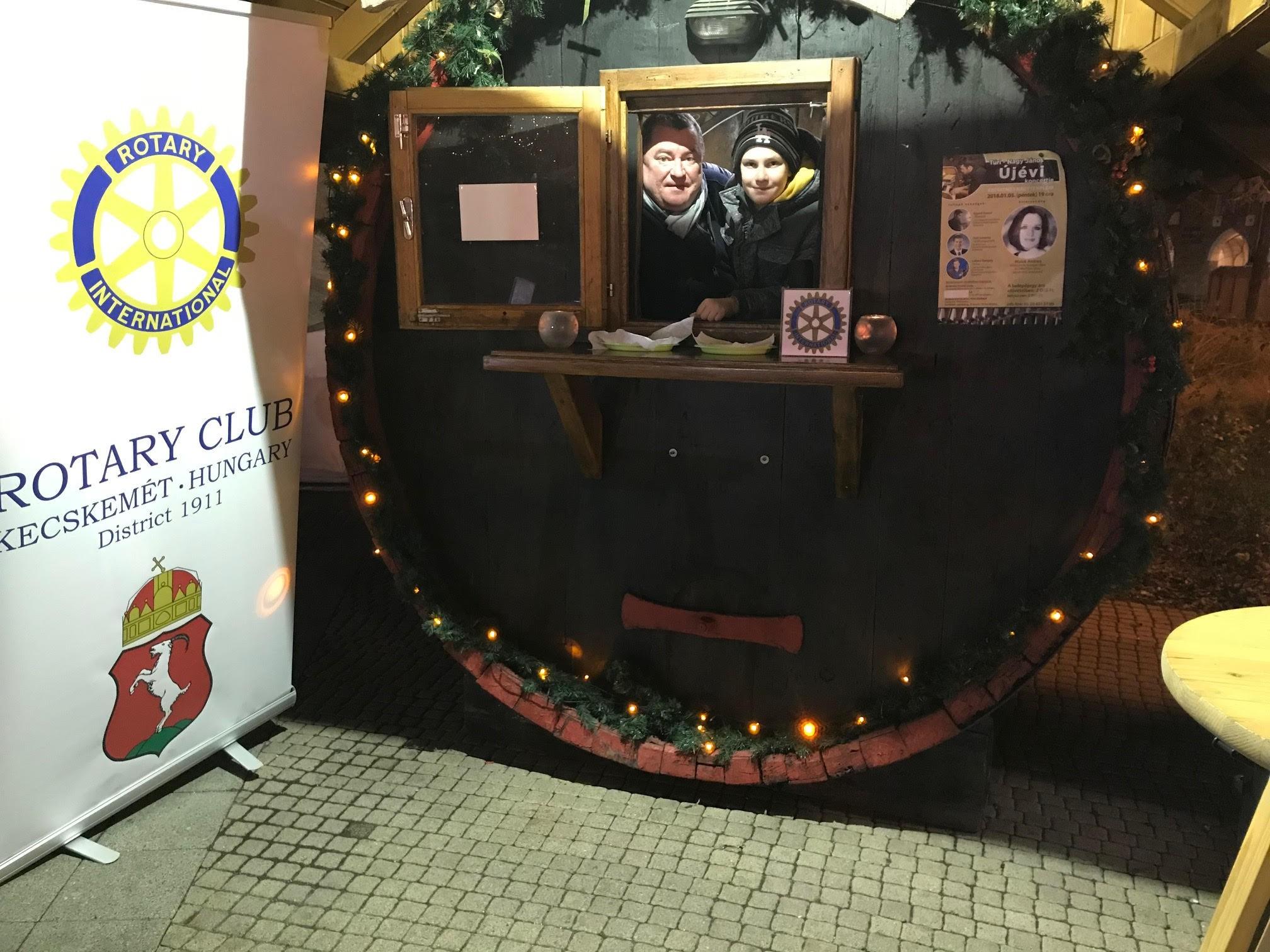 Idén is gyűjti az adományokat a Rotary Club Kecskemét