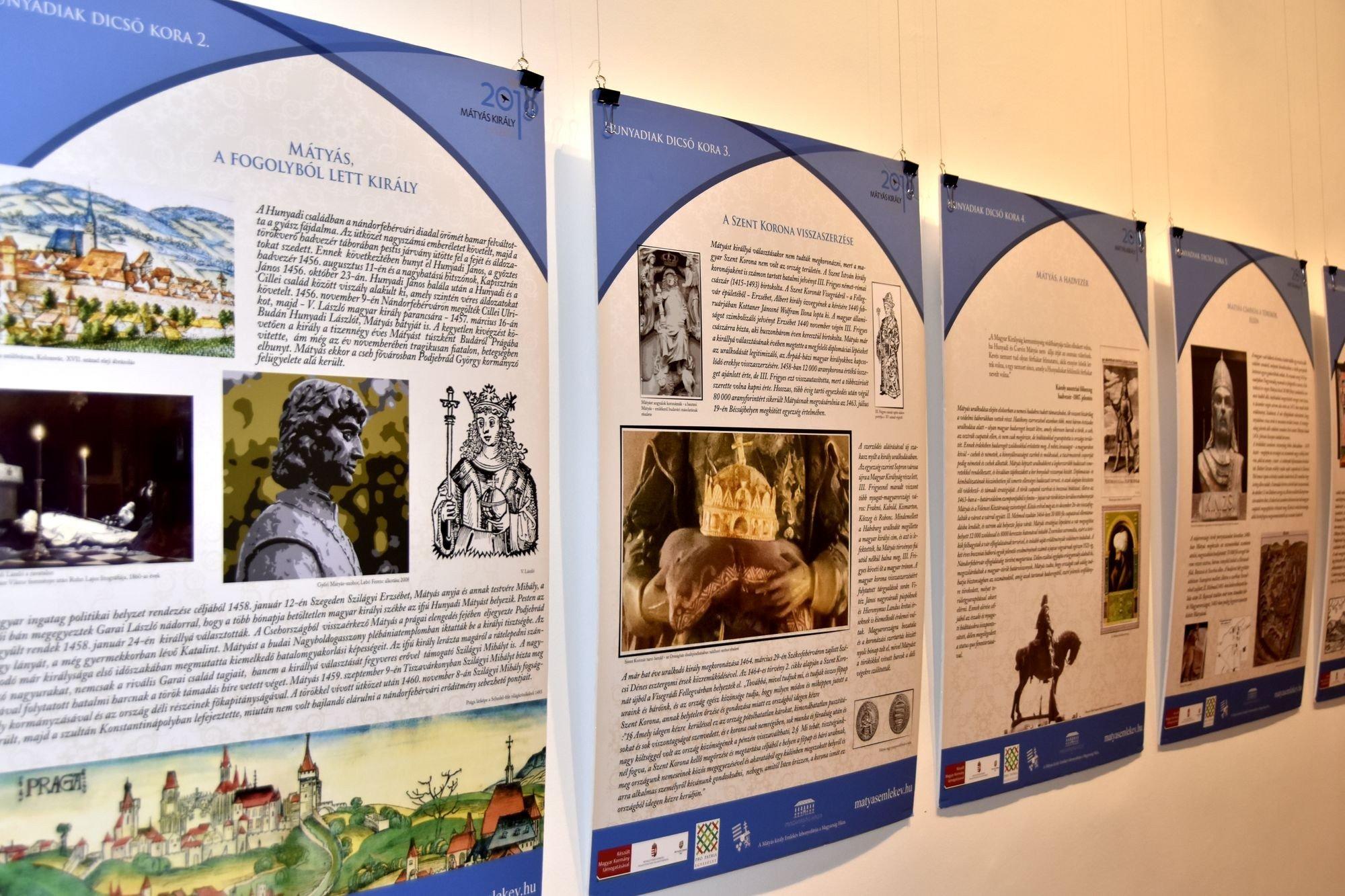 A Hunyadiak dicső korát bemutató vándorkiállítás érkezett Kecskemétre